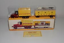 TT 1:43 ATLAS DINKY TOYS 881 CAMION G.M.C TRUCK TRAILER PINDER CIRCUS MINT BOXED