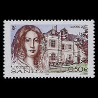 "France 2004 - Birth of George Sand ""1804-1876"" Architecture - Sc 3006 MNH"