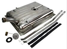 1956 Ford & Merc Stainless Steel Gas Tank With Sender & Straps - Fuel tank kit