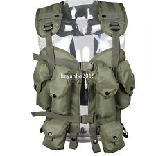 MILITARY TACTICAL OD GREEN CAMOUFLAGE LOAD BEARING COMBAT ASSAULT LBV 88 VEST