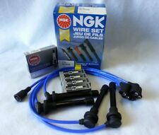 1991-1994 240SX S13 KA24DE NGK SPARK PLUG BKR5E11 & WIRE Kit NX96