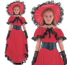 Bristol Novelty Scarlet O Hara Costume Medium Child Girls Age 5 - 7 Years