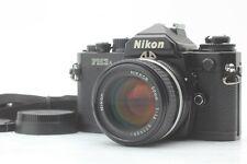 【Top Mint】 Nikon FM3A Black SLR Film Camera 50mm F1.4 Ai-s Lens from Japan #581