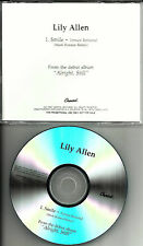 LILY ALLEN w/ MARK RONSON Smile REMIX Version Revisited PROMO DJ CD single 2007