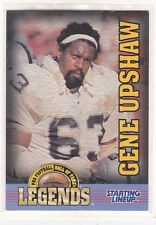 1998  GENE UPSHAW - Starting Lineup Card - Oakland Raiders - LEGENDS - Vintage