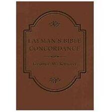LAYMAN'S BIBLE CONCORDANCE QuickNotes Commentaries