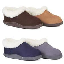 Señoras Slipper Botas Para Mujer Zapatillas Invierno Térmica de imitación de piel de oveja de piel Zapatos siz