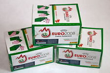 PANINI EM EURO 2008 3 X DISPLAY BOX VERDE GREEN SEALED//OVP RARE Shiny ALBUM