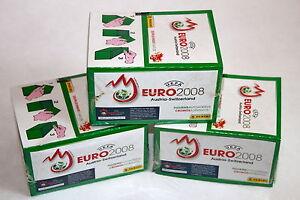 Panini EM Euro 2008 08 – 3 x Display Box GRÜN GREEN sealed/OVP RARE SHINY!
