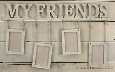 Photo Frame FRIENDS 'Antique White' Multi Home Decor 4x6in size Picture Frames