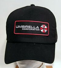 RESIDENT EVIL Logo Baseball/Trucker Cap/Hat w Patch