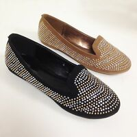 New Women's Ballet Flats Fashion Loafers Rhinestone Oxfords Shoes Colors, Sizes