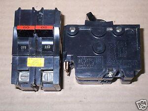 FEDERAL PACIFIC FPE NA NA250 2 POLE 50 AMP BREAKER FLAWED