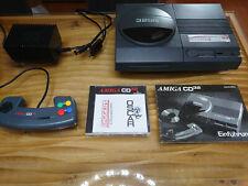Commodore Amiga CD32 Komplettpaket mit Netzteil / Controller / Spiel / Anleitung