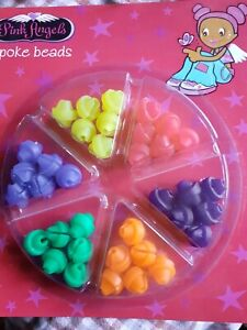 Pink Angel's Spoke Beads BNI PACK