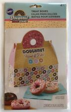 +Doughnut Stand Donut Boxes Bakery Treat Container set/2 Wilton Sprinkles