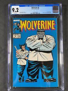 Wolverine #8 CGC 9.2 WT Pgs 1989 3853874006 Marvel Comics John Buscema