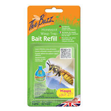 More details for the buzz honeypot wasp trap bait refill