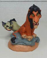"The Disney Store Lil Classics Scar & Hyeana Vintage PVC 3"" Figure"