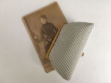 Vintage Whiting & Davis White Mesh Coin Purse