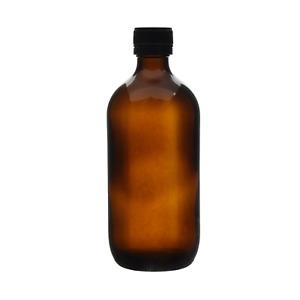 25x 500ml Amber Glass Bottles Tamper Evident Screw Cap Empty Essential Oil Bulk