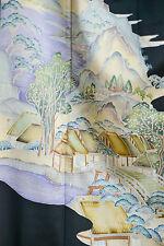 Vintage Japanese silk  Kimono  TOMESODE  from Japan 12-21