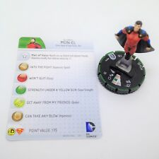 Heroclix Superman and Legion set Mon-El  #005b Prime figure w/card!
