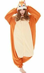 Rbj037 Wearing Costume Adult Fleece Chip And Dale [Dale]