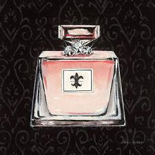 Marco Fabiano: Samantha's Boudoir III Fertig-Bild 30x30 Wandbild Mode Parfüm