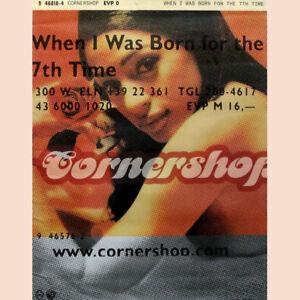CORNERSHOP POSTER, WHEN I WAS BORN....    (C11)