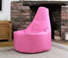 Large Bean Bag Gamer Seat Beanbag Adult Outdoor Gaming Garden Big Chair Pink