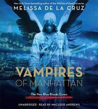 THE VAMPIRES OF MANHATTAN unabridged audio book on CD by MELISSA DE LA CRUZ
