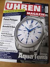 UHREN-MAGAZIN Nr 6 2005 - Uhren Zeitschrift, Uhrenheft, Magazin
