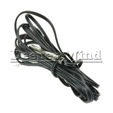 NTC 3435 10K Ohm 1% Thermistor Temperature Sensor Cylinder Probe Wire 1.5M