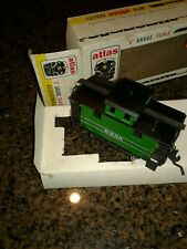 1972 ATLAS TRAINS #6256  CABOOSE 4-WHEEL CAR 'O' GAUGE