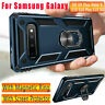 Military Armor Case For Samsung Galaxy Note 10 9 S10 Plus 5G Magnetic Ring Cover
