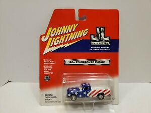 Johnny Lightning JL Collection 1960s Studebaker Champ Pickup Truck Diecast 1/64