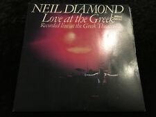 NEIL DIAMOND LOVE AT THE GREEK 2 X VINYL LP 1977