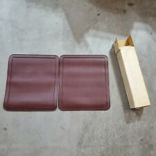 76 1976 Buick Chevy Olds... Dark Mahogany Red Rear Floor Mats PAIR GM 994886 NOS