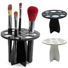 Fashion Makeup Brush Tree Acrylic Brushes Dryer Holder Hanger Organizer Cosmetic