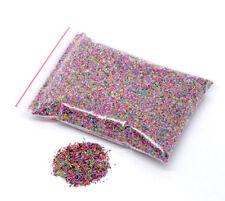 LOT 10g micro perles MULTICOLORES billes caviar en verre 0,7mm pour fioles fimo