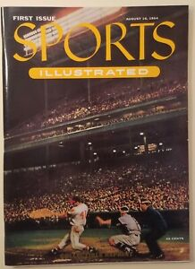 Sports Illustrated 1954 Collectible 1st Issue Reprint Topps cards intact