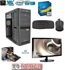 "PC DESKTOP INTEL I3 3.4 GHZ 1155 h61m USB 3.0 RAM 8GB HD 500GB Monitor 22"""