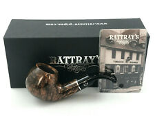 Rattray's Goblin 66 grau poliert Bent Pfeife pipe pipa 9mm Filter