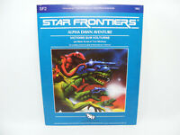 STAR FRONTIERS Alpha Dawn SF2 1982 TSR Vintage RPG jeu de rôle Science Fiction