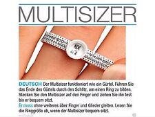 Ringmassband Ringmass Ringweite Ermitteln,Ringgrösse messen Multisizer 1€