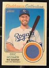 Eric Hosmer 2017 Topps Heritage Clubhouse Collection Relic GU Jersey - ROYALS