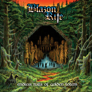 BLAZON RITE - Endless Halls of Golden Totem CD, NEU