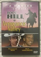 Boot Hill & Vengeance Valley (DVD) Terence Hill & Burt Lancaster New Sealed