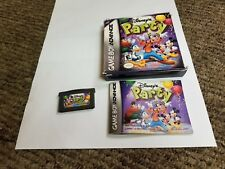 Disney's Party (Nintendo Game Boy Advance, 2003) complete gba